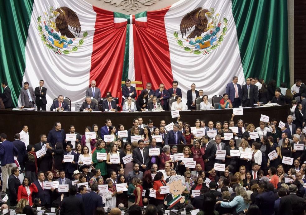 Piden renuncia de Rosario Piedra Ibarra: Senadores de Oposición