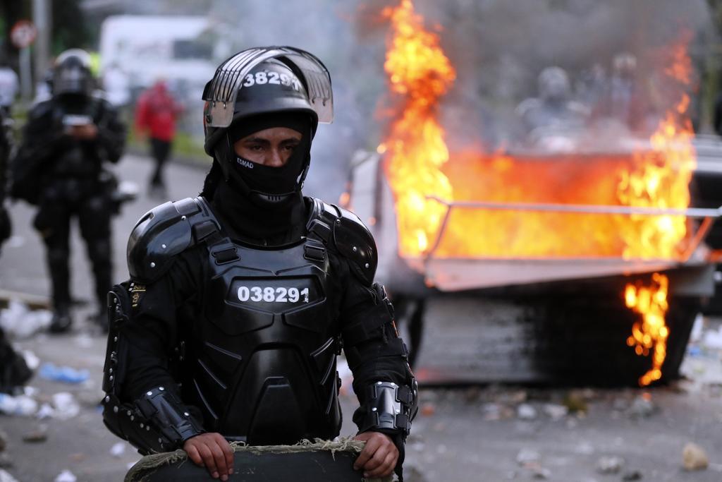 Hay una universitaria y un menor entre las víctimas delas protestas en Bogotá