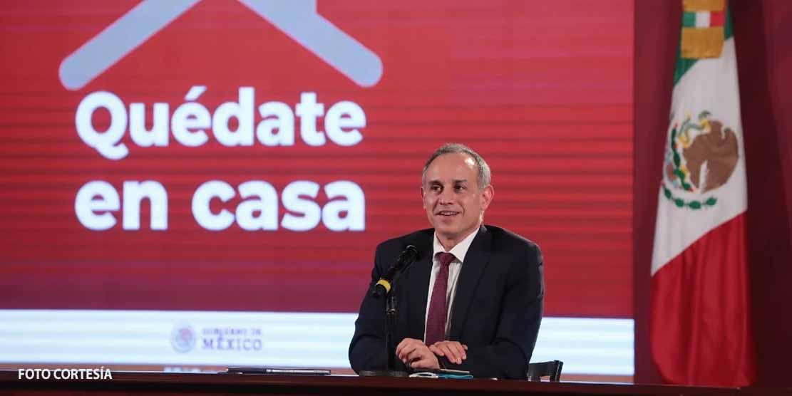 'Que exsecretarios patenten la fórmula': Lopez Gatell