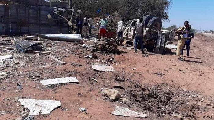 Tres muertos y cinco heridos en un ataque suicida a una mezquita en Somalia