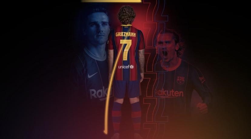 """Griezman el nuevo """"7"""" del Barcelona"""