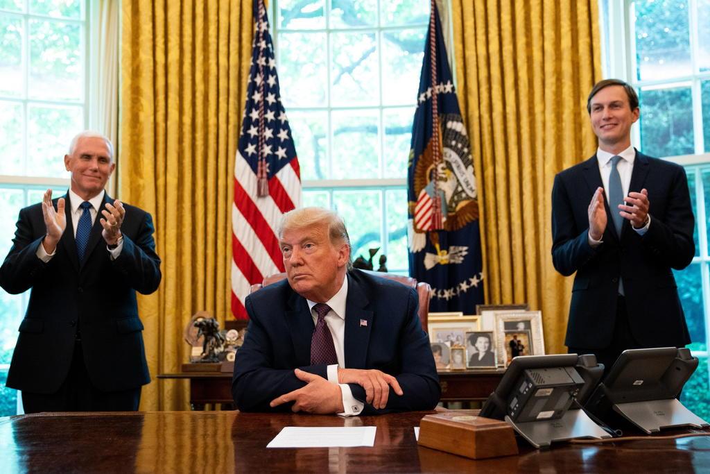 Anuncia Trump acuerdo de paz entre Israel y Baréin