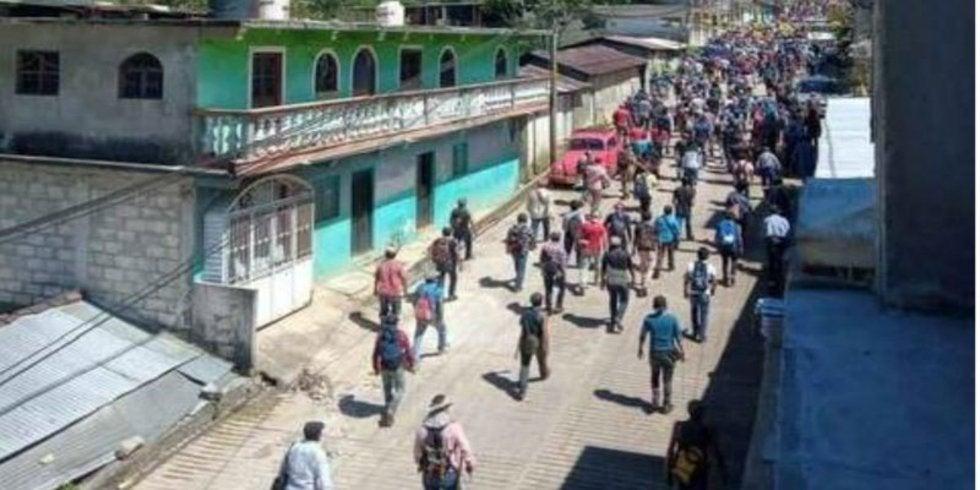 Cinco muertos en Chiapas por enfrentamiento entre ejidatarios