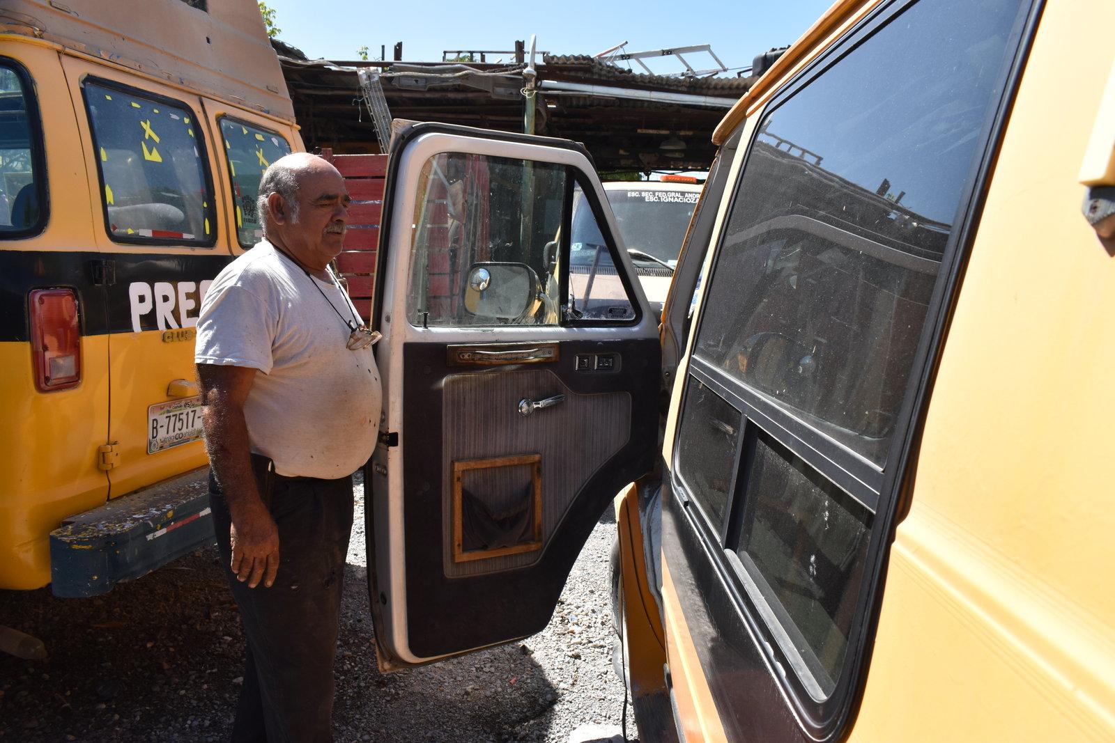 Agoniza el transporte  escolar en 'San Buena'