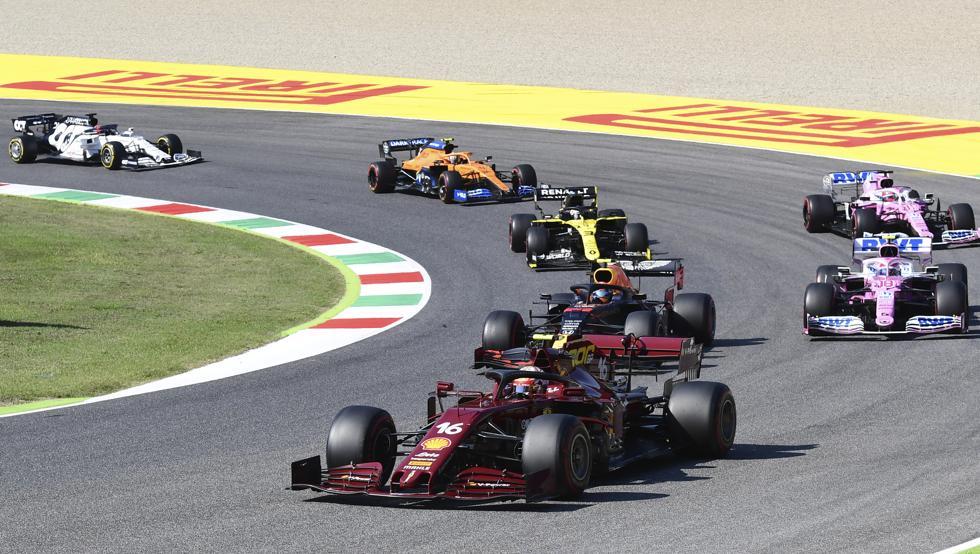 Clasificación final de la Fórmula Uno del Gran Premio de la Toscana