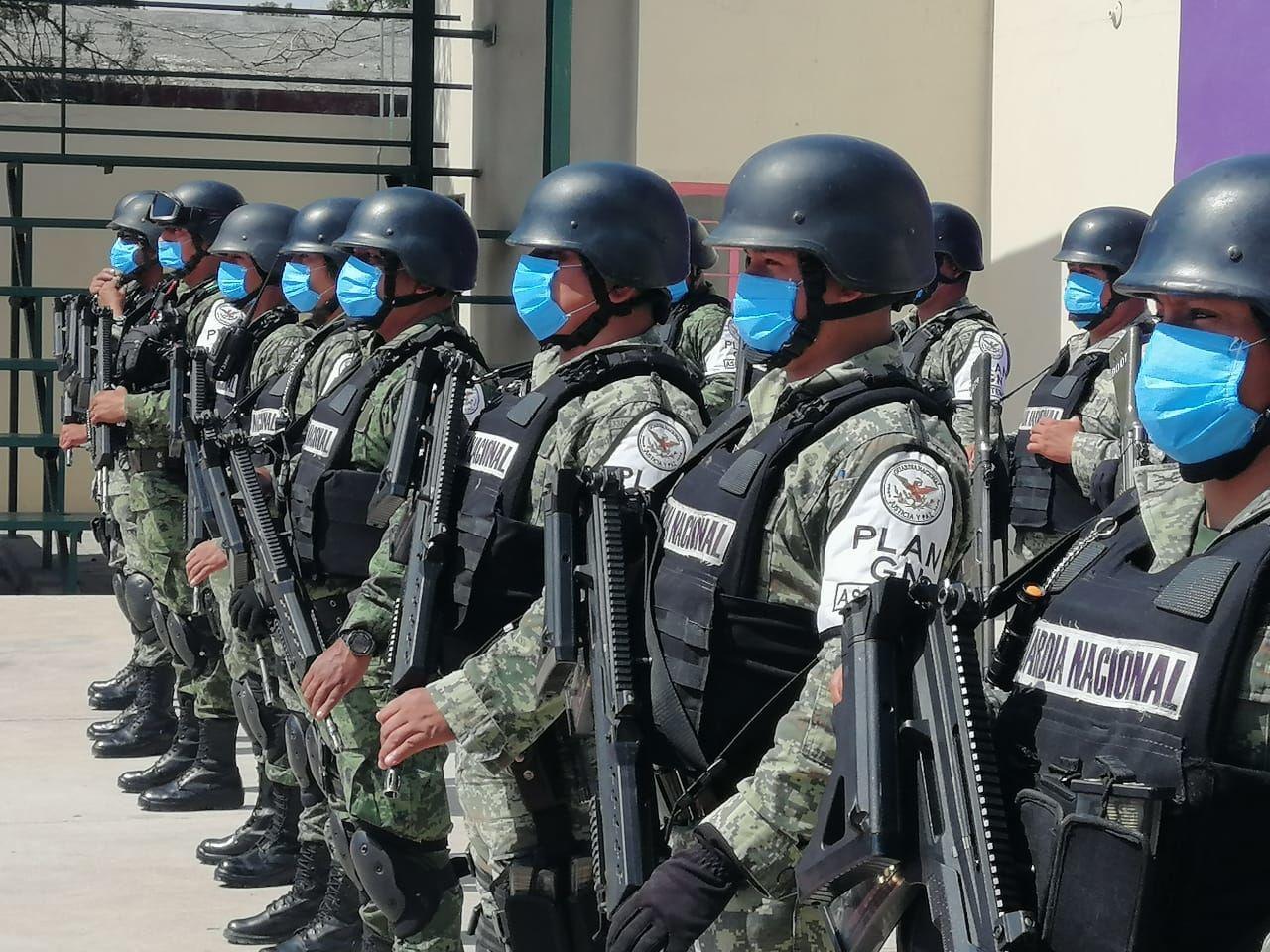 Evitará Guardia Nacional reuniones durante el grito