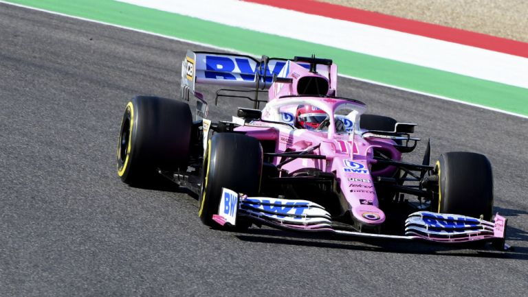 Checo Pérez llega en quinto lugar