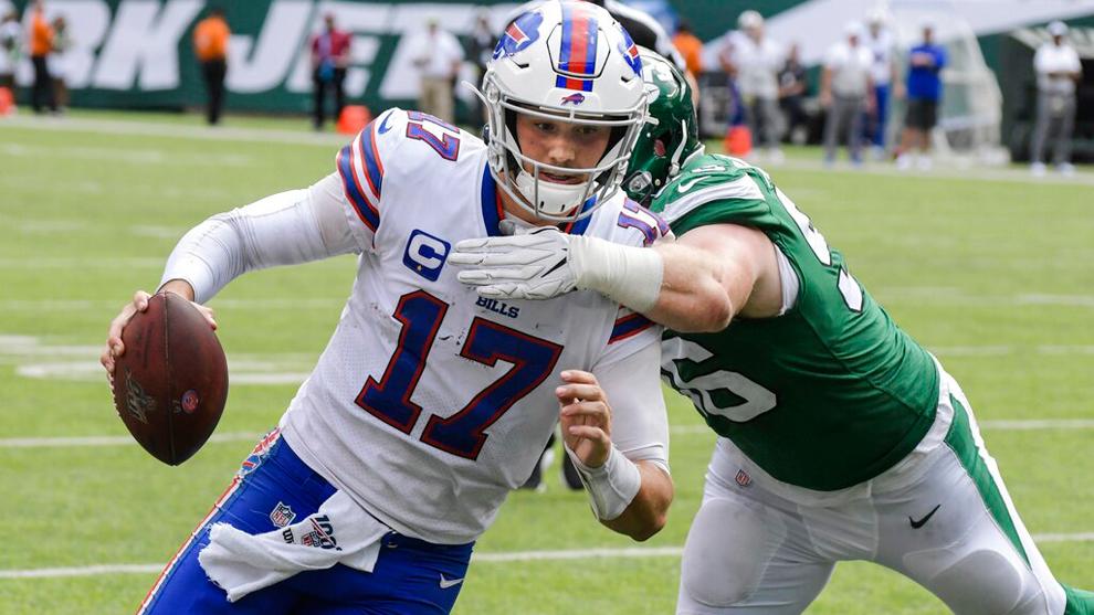 Los Bills se impusieron ante los Jets