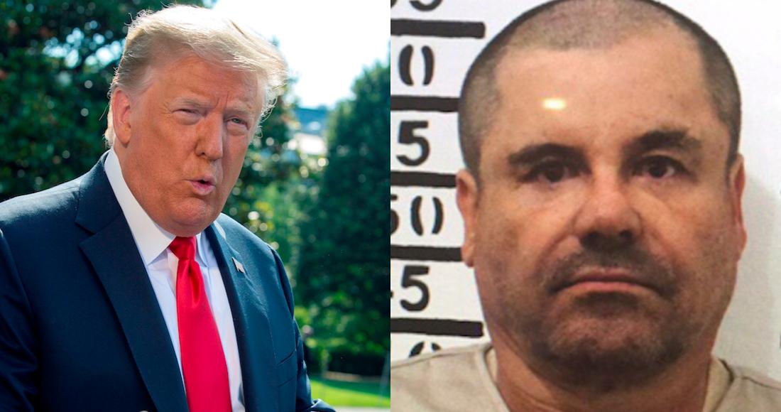 Trump tiene un fan muy especial y ese es 'El Chapo' Guzmán