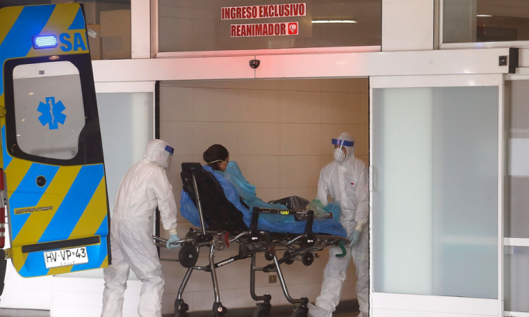 Chile reporta un total de 437,983 contagios y 12,040 fallecidos por COVID-19
