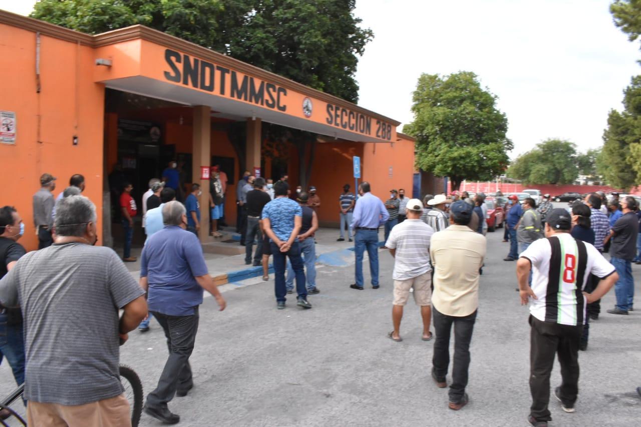 Revaloriza Altos Hornos a obreros en cuarentena