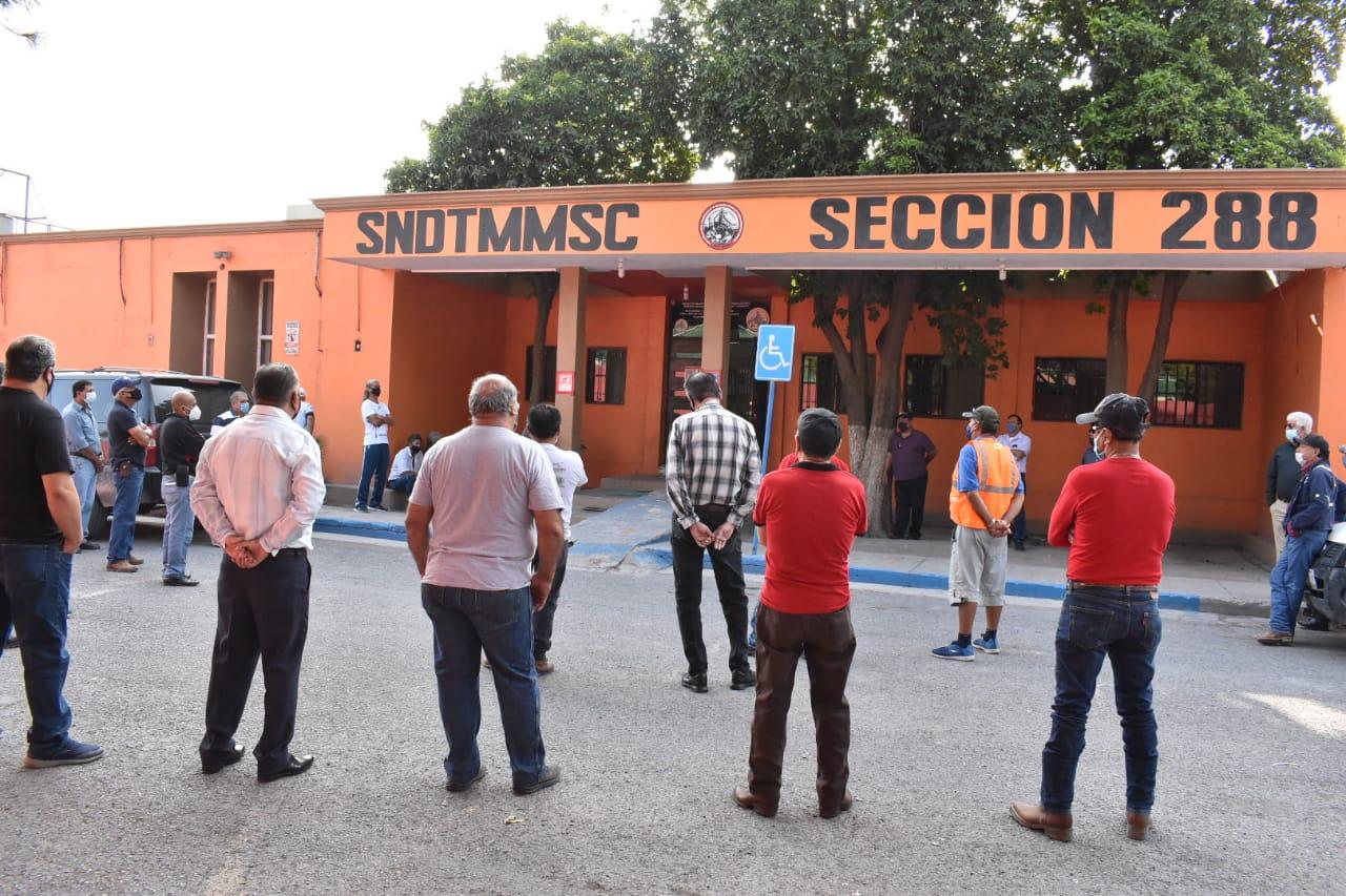 Obreros en resguardo de AHMSA amenazan con tomar la Sección 288