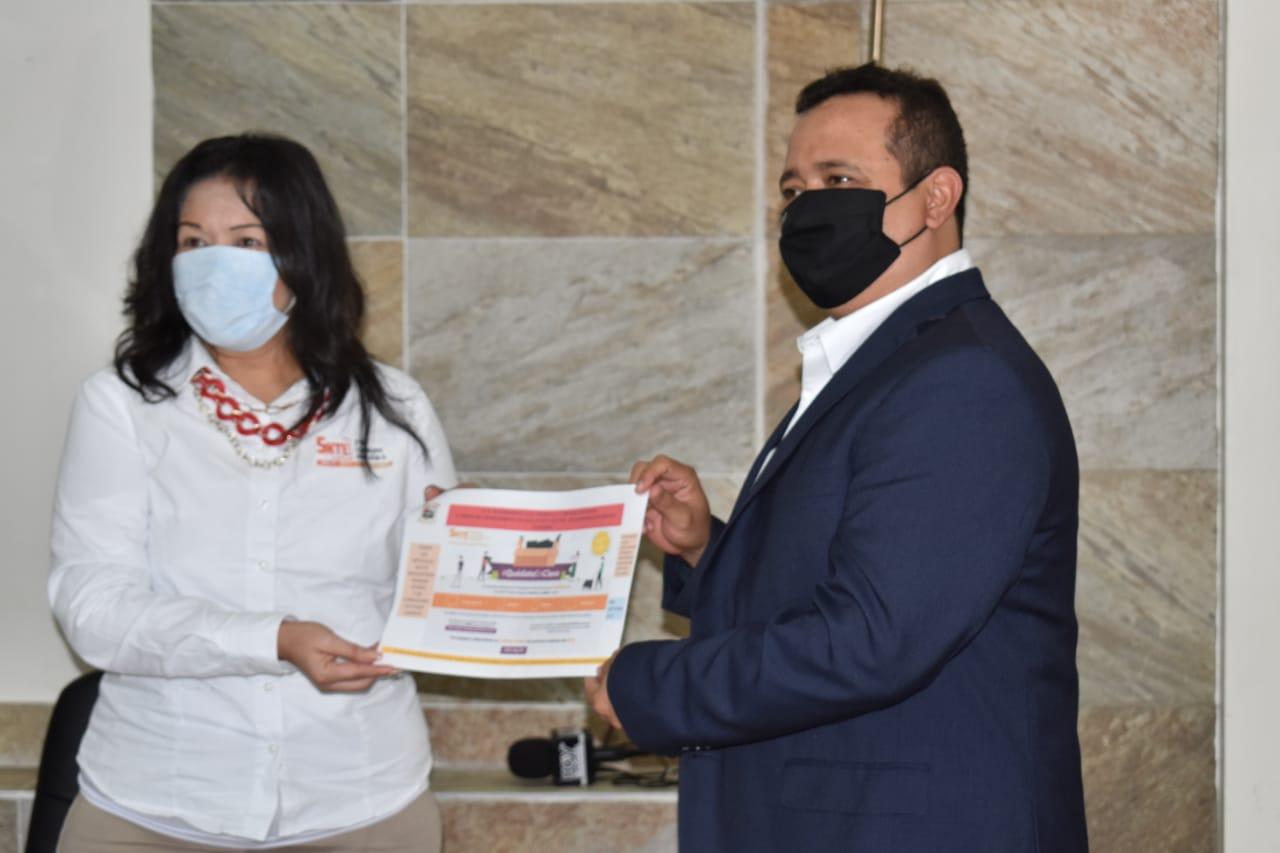Concluyen en Castaños la  campaña 'Quédate en Clases'