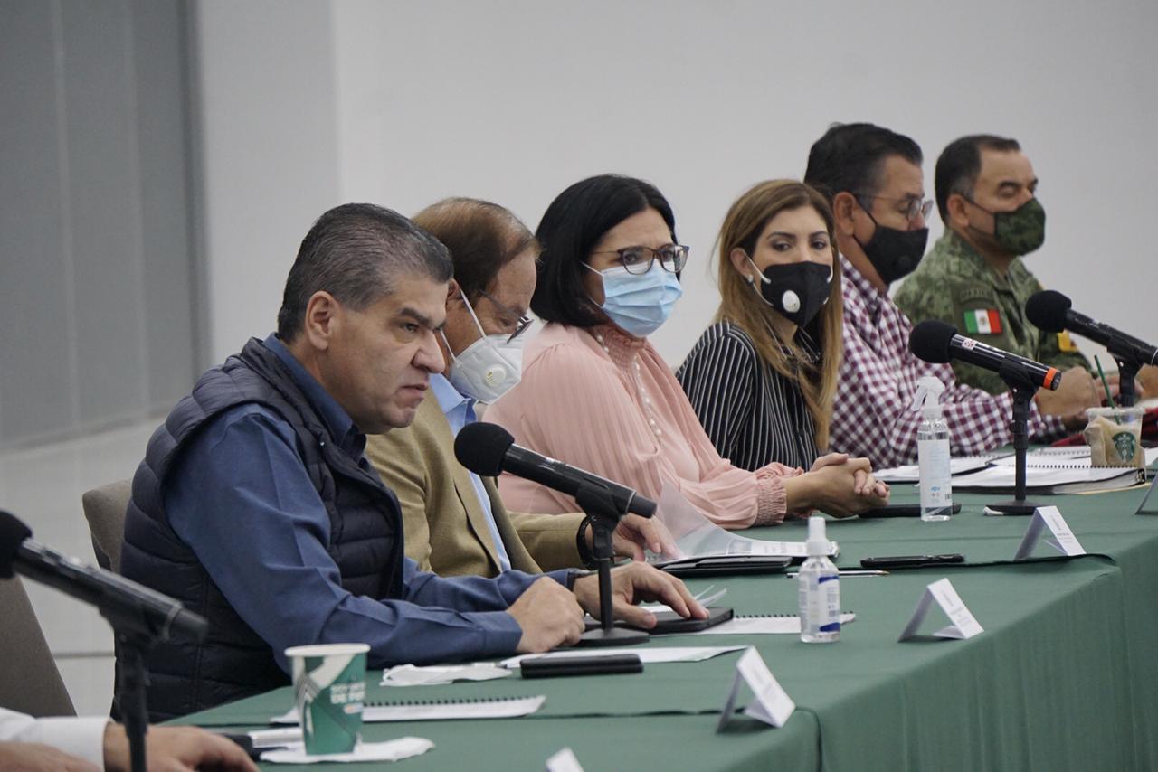 Reitera Coahuila apoyo al IEC en  materia sanitaria y de seguridad