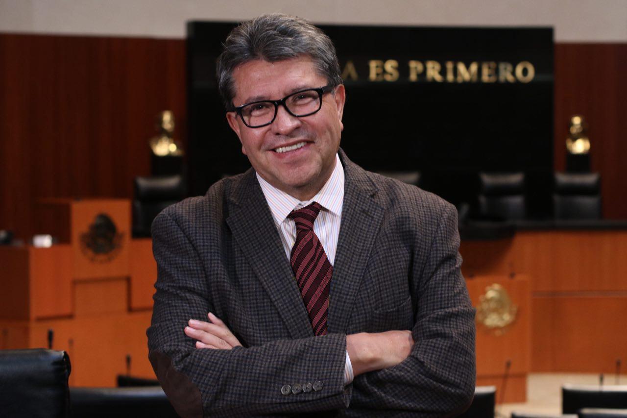 Presentará iniciativa para que consulta sea el mismo día de elección: Ricardo Monreal