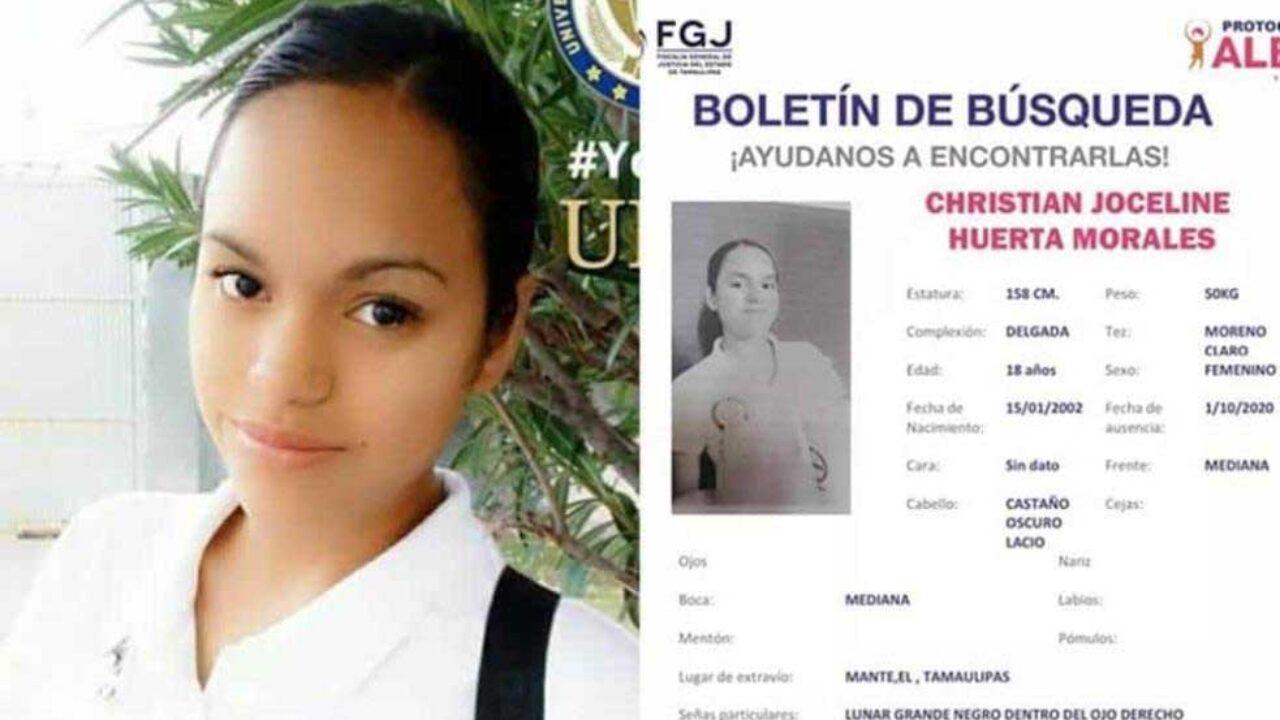 En Tamaulipas, buscan a estudiante desaparecida