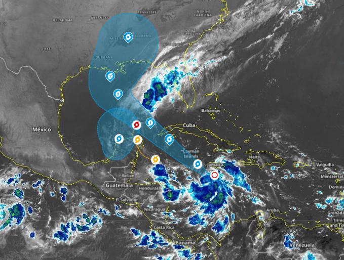 Cuba pone en alerta ciclónica a su porción oeste ante inminente paso de Delta