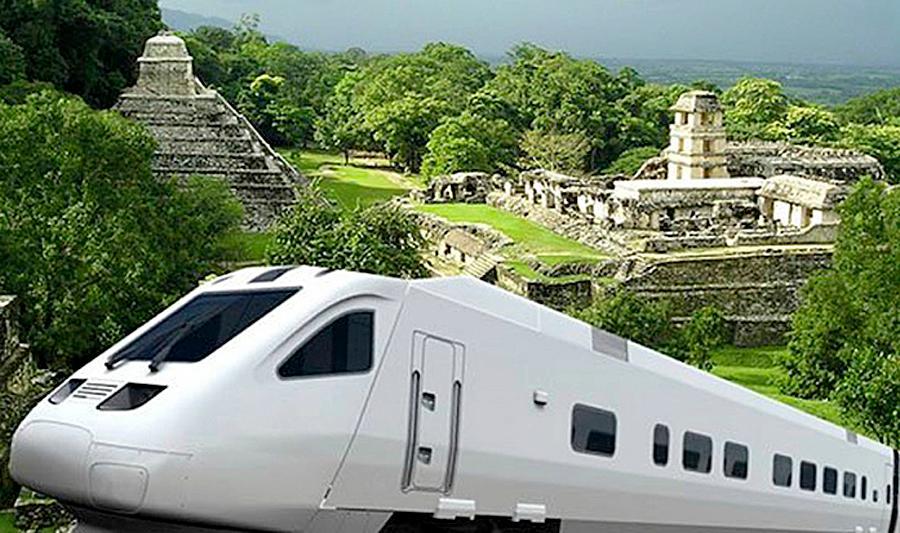 40% de derecho de vía, ocupado: Tren maya