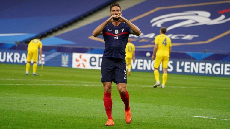 Francia golea a Ucrania