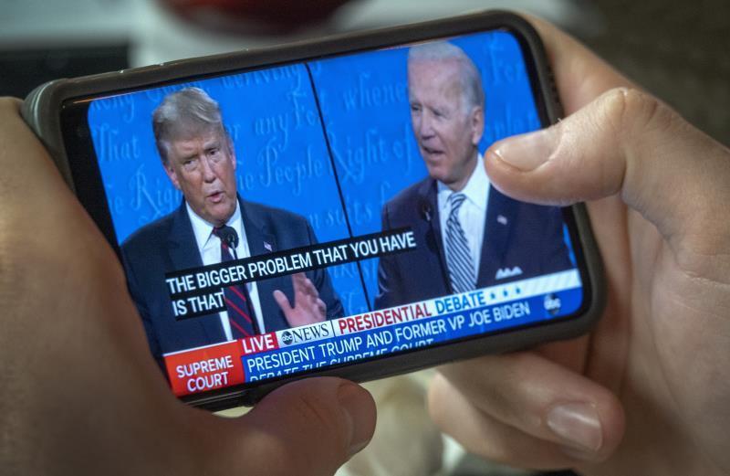 El segundo debate entre Trump y Biden será virtual