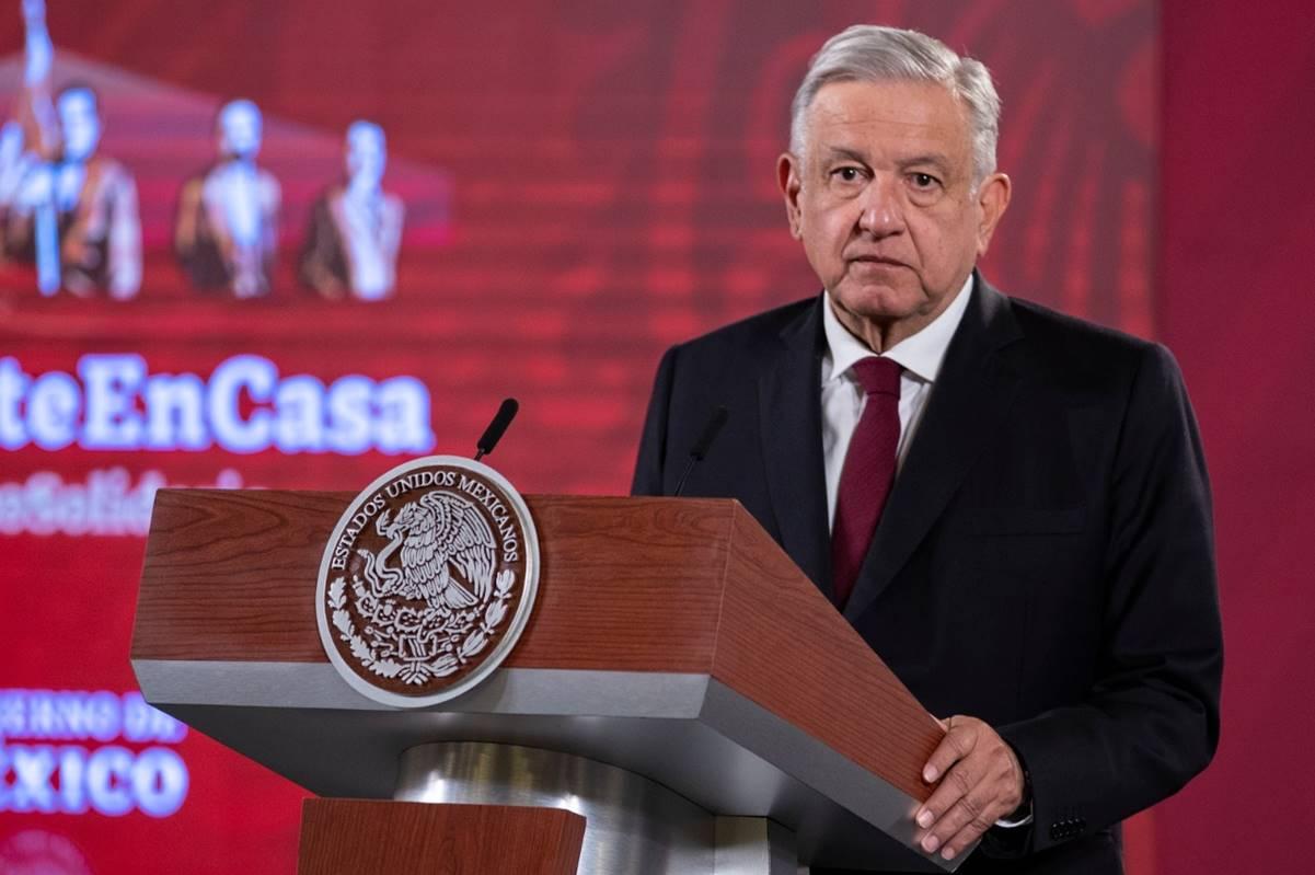'No se refería a México', dice sobre pronósticos de Carstens: AMLO