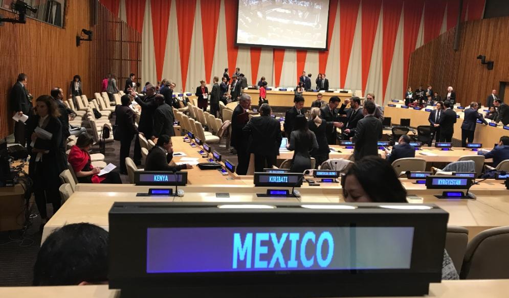 Se abstiene de votar resolución en ONU sobre DH en Venezuela: México