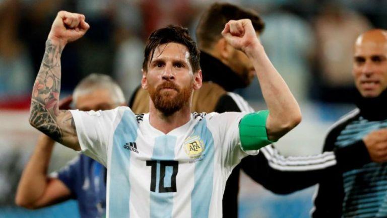 Messi pide apoyo para Argentina