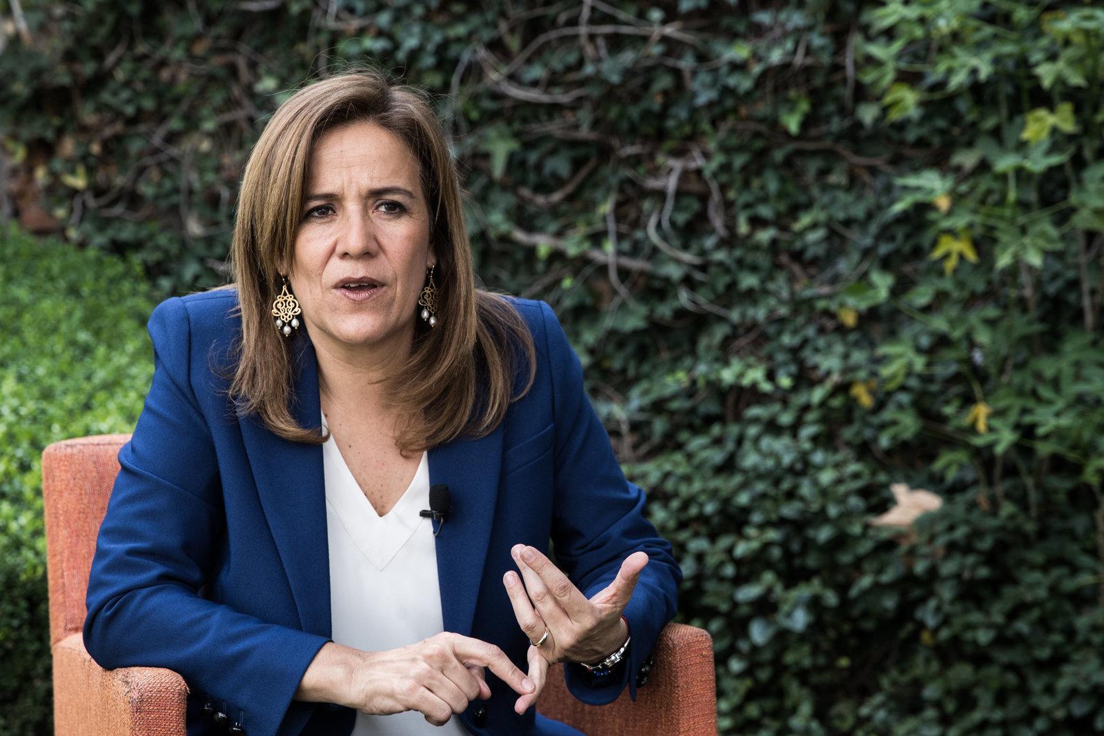 'Se persigue a todo el que disiente': Margarita Zavala