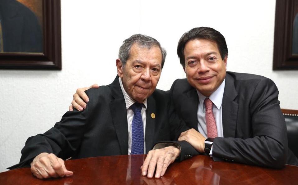 Muñoz Ledo y Mario Delgado empatan en encuesta para presidencia de Morena