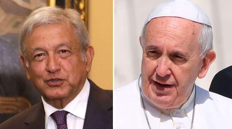 ¿Qué dice la carta que AMLO envió al Papa Francisco?
