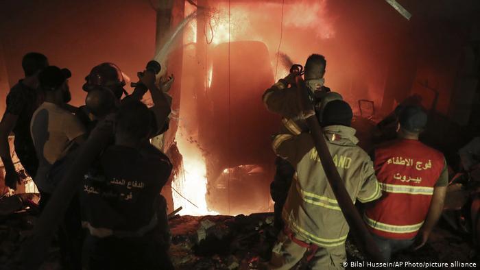 Cuatro heridos por una nueva explosión en una localidad al sur de Beirut