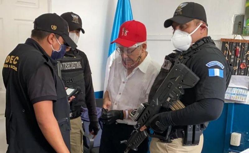 Capturan a exguerrillero guatemalteco en México