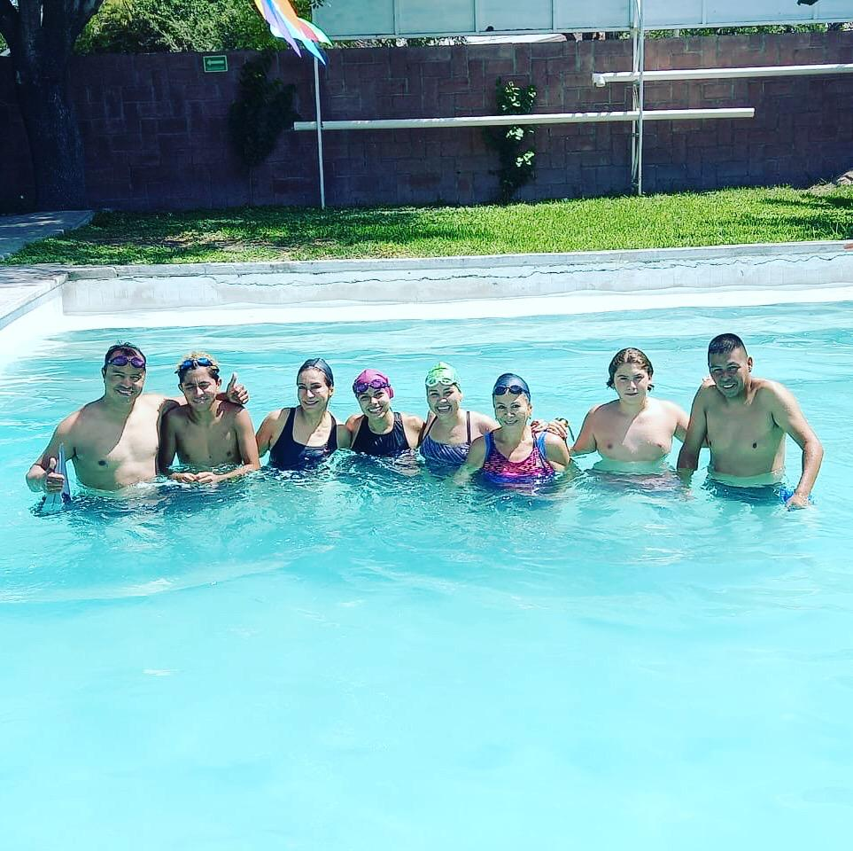 Toman tiempos a nadadores