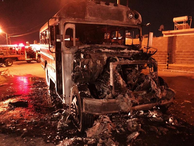 Se incendia camión