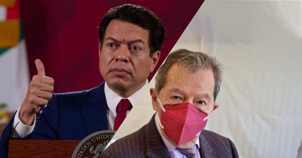 Rechazan 254 legisladores de Morena declinación de Mario Delgado