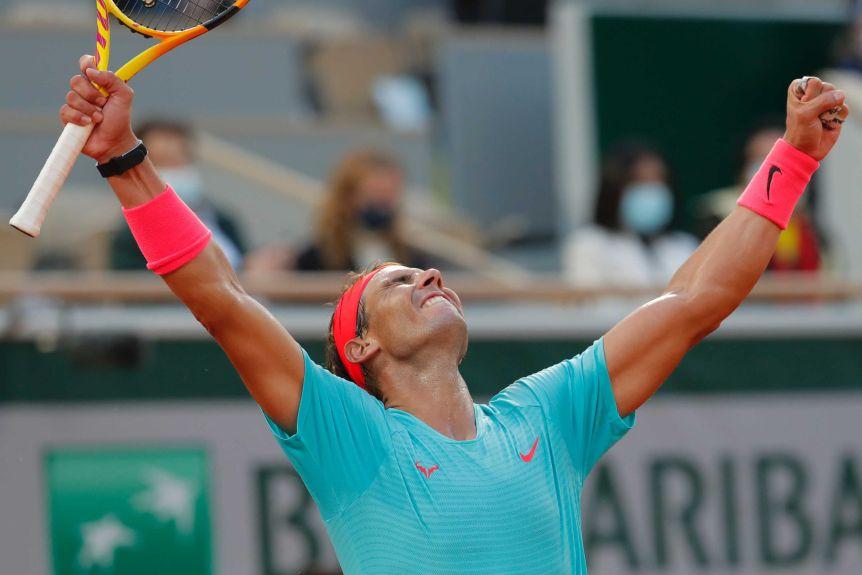 Empata a Federer con 20 títulos de Grand Slam: Rafael Nadal