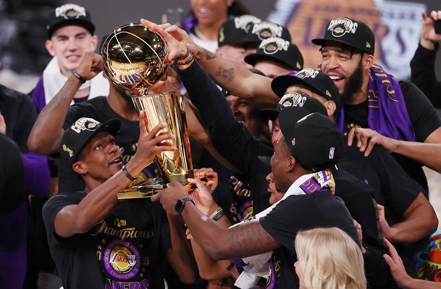 Lakers son los campeones de la NBA 2020
