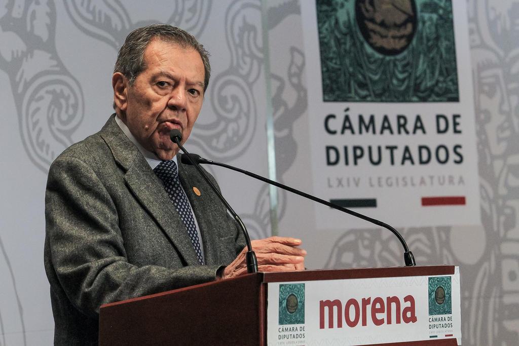 Convoca Muñoz Ledo a 'toma de posesión' como dirigente de Morena