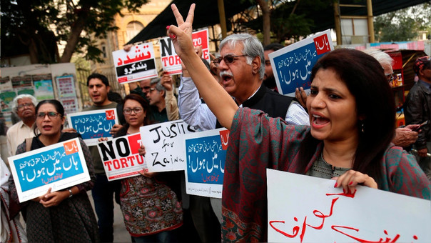 Arrestan al principal acusado por la violación que indignó a Pakistán
