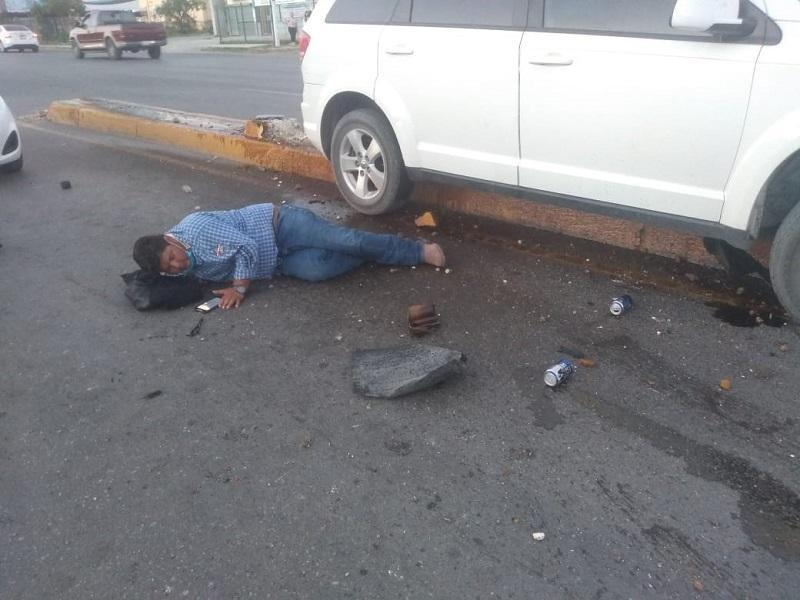 En Piedras Negras, sucedió aparatoso accidente en la Guillén