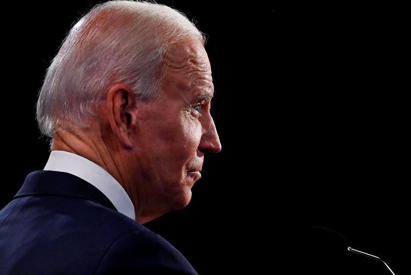 Biden dice que Trump es el 'único' mayor por el que se preocupa el presidente