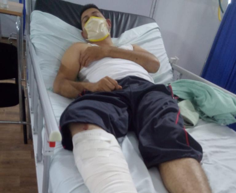 Sufre percance en MonclovaCandidato del PRD por el distrito 5