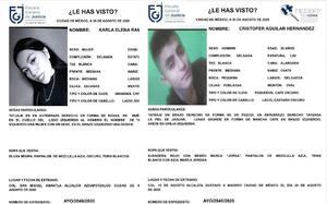 Hasta 500 mil pesos ofrecen como recompensa para localizar a 2 jóvenes desaparecidos