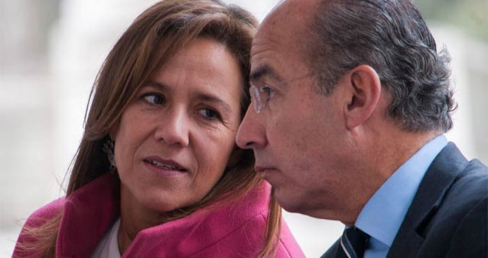 Niegan magistrados partido a Calderón