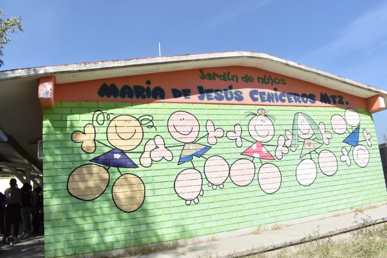Ladrones dejan sin cableado eléctrico a preescolar en Monclova