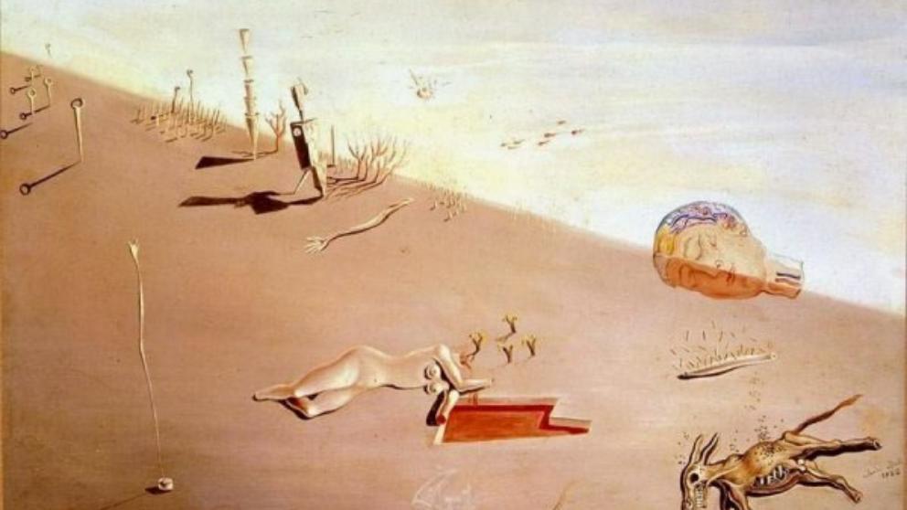 Se vende por 9 millones un conjunto de dos óleos surrealistas de Dalí