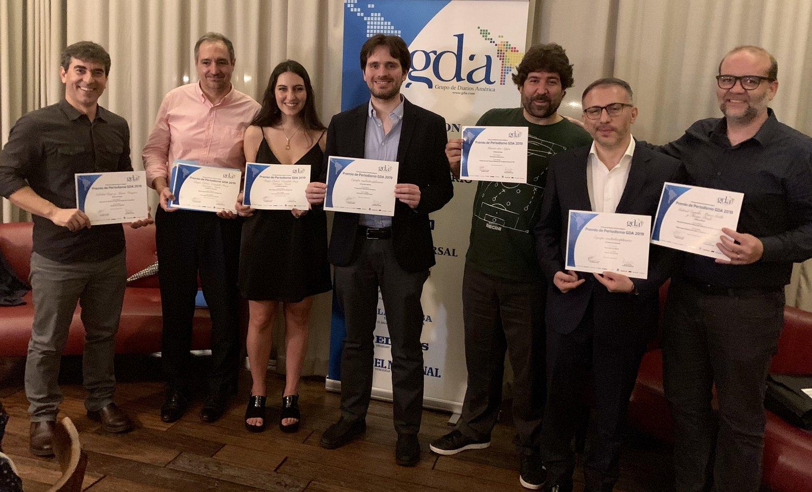 Entrega premios a lo mejor del periodismo 2020: GDA