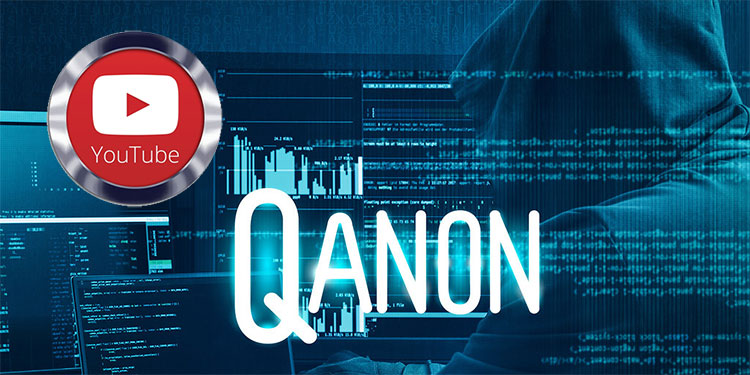 Prohíben teorías conspirativas que justifiquen la violencia como QAnon en Youtube