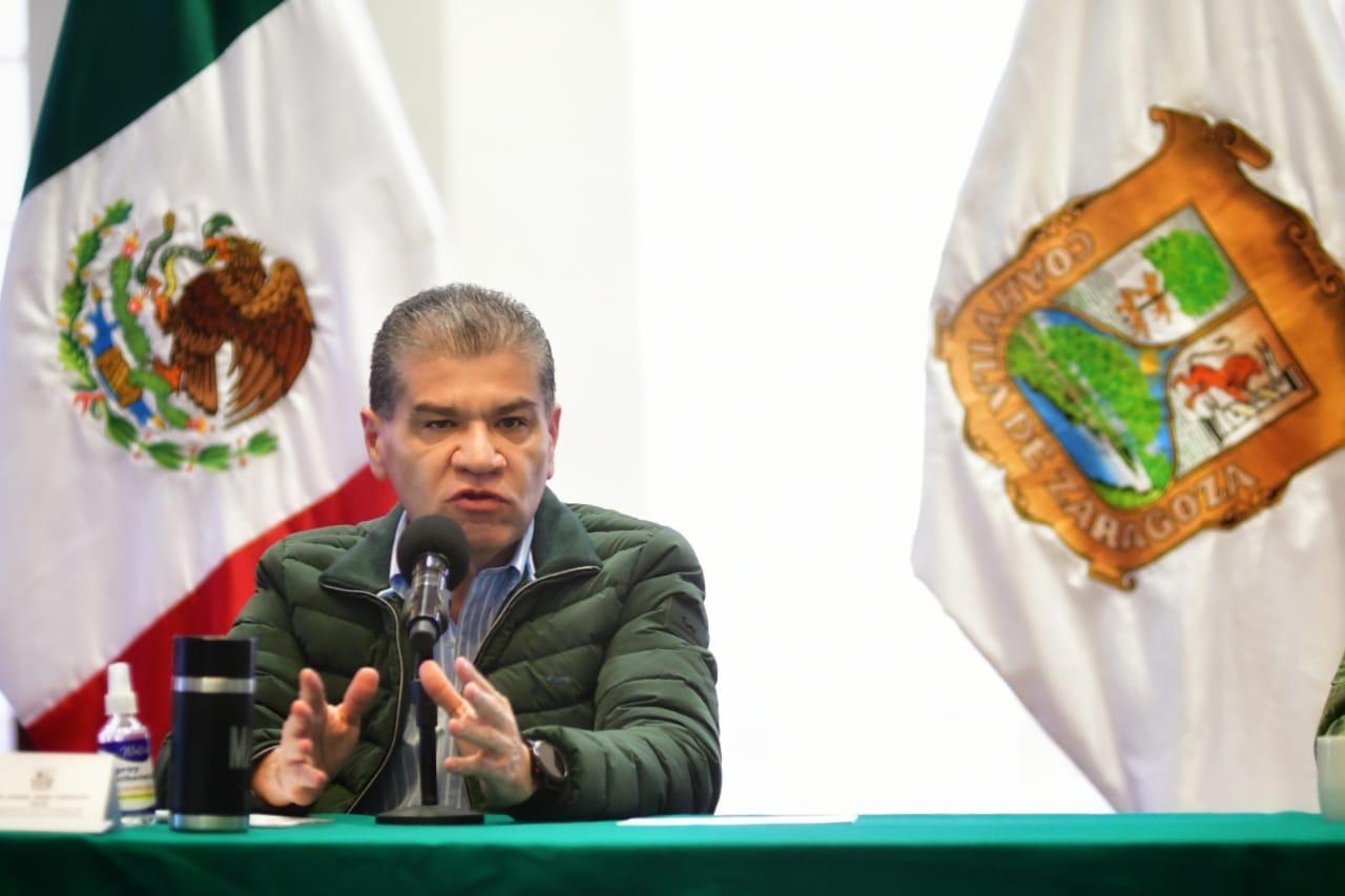 Listos en Coahuila para elecciones del 18 de octubre: Riquelme
