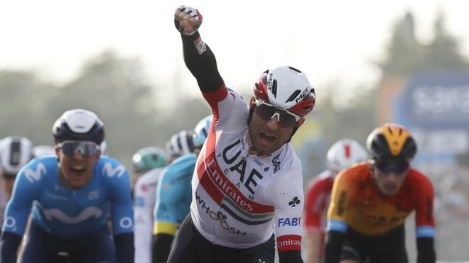 Diego Ulissi se lleva su segunda victoria